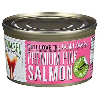 Natural Sea Wild Pink Salmon Unsalted, 7.5 oz