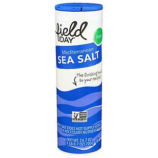 Field Day Coarse Mediterranean Sea Salt, 24.7 oz