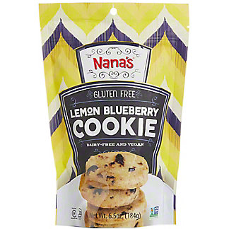 Nana's Gluten Free Lemon Blueberry Cookies, 6.5 oz