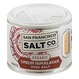 San Francisco Salt Co. OrganicOnionHimalayan PinkSalt, 4 oz