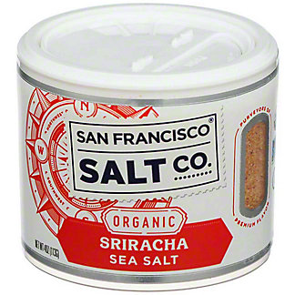 San Francisco Salt Co. OrganicSiracha Sea Salt, 4 oz