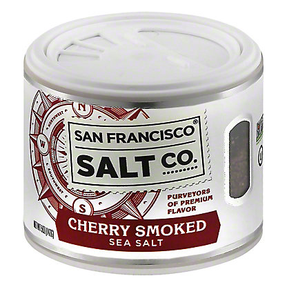 San Francisco Salt Co. Cherry Smoked Sea Salt, 5 oz