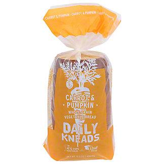 Daily Kneads Carrot Pumpkin Bread, 17.5 oz