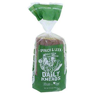 Daily Kneads Spinach Leek Bread, 17.5 oz