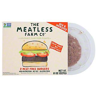 The Meatless Farm Co. Meat Free Burger, 2 pk, 8 oz