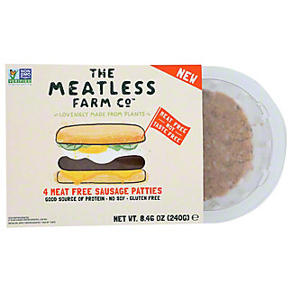The Meatless Farm Co. Meat Free Sausage Patties, 4pk, 8.46 oz