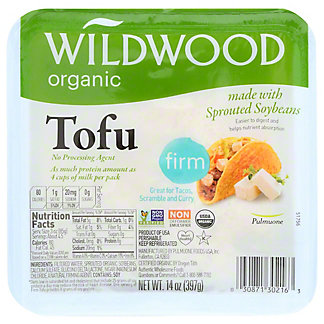 Wildwood Organic Firm Tofu , 14 oz