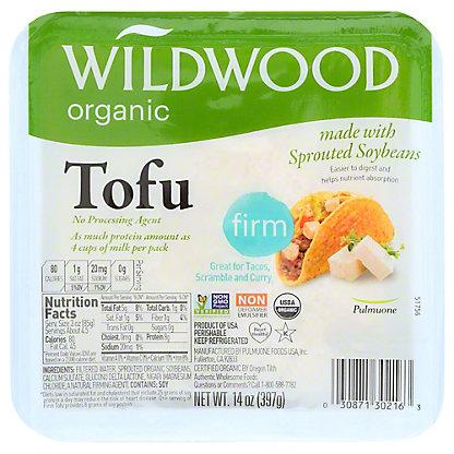 Wildwood Organic Firm Tofu, 14 oz