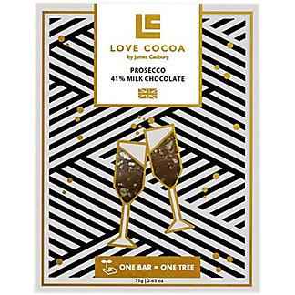 Love Cocoa Prosecco Milk Chocolate Bar, 2.6 oz