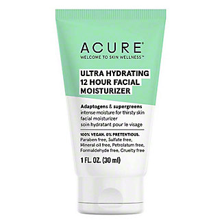 Acure Ultra Hydrating 12-Hour Facial Moisturizer, 1 oz