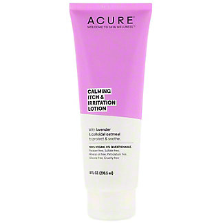 Acure Calming Itch & Irritation Lotion, 8 oz