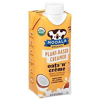 Mooala Organic Plant-based Oats 'N' Creme Creamer, 11 oz