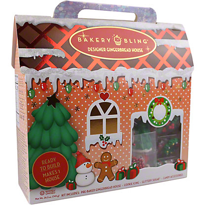 Bakery Bling Cozy Cottage Gingerbread Kit, 27.5 oz