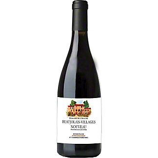 Georges Dubeouf Domaine Des 3 VallonsRed Beaujolais Nouveau Wine, 750 ml