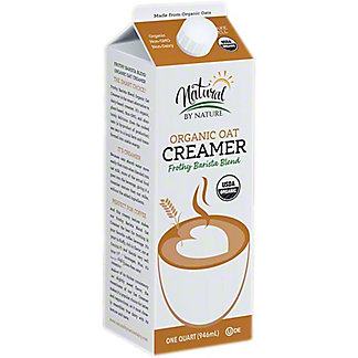 Natural By Nature Organic Oat Creamer, 32 oz