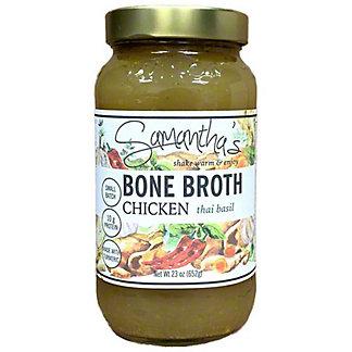 Samantha's Thai Basil Chicken Bone Broth, 23 oz