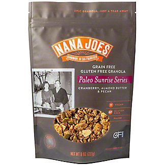 Nana Joes Paleo Sunrise Series Cranberry Almond Butter Pecan Granola, 8 oz