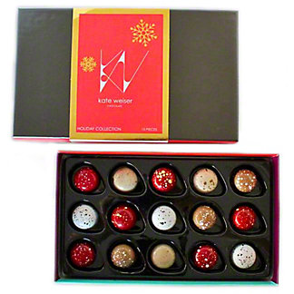 Kate Weiser Chocolate Holiday Collection, 15 ct