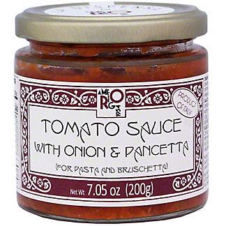 Amerigo Pancetta & Onion Sauce, 7.05 oz