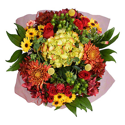 Central Market Bordeaux Blooms Bouquet, ea