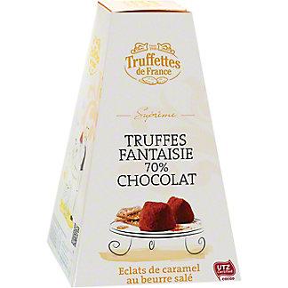 Truffettes De France Chocolate Salted Caramel Truffles Box, 7 oz