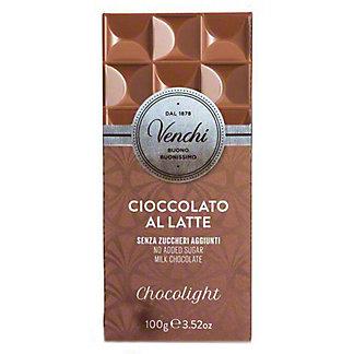 Venchi Chocolight Milk Chocolate Bar, 3.52 oz