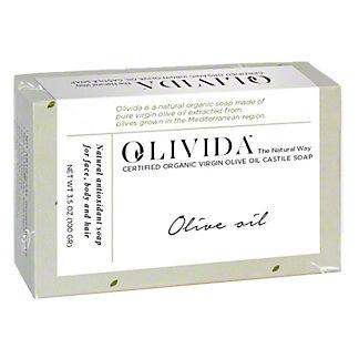 Olivida Olive Oil Soap Bar, 3.5 oz