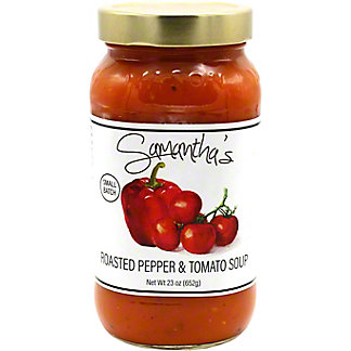 Samantha's Roasted Red Pepper And Tomato Soup, 23 oz