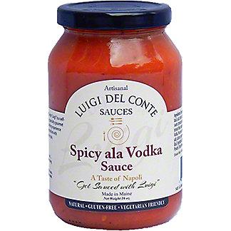 Luigi Del Conte Sauces Spicy Ala Vodka Sauce, 16 oz