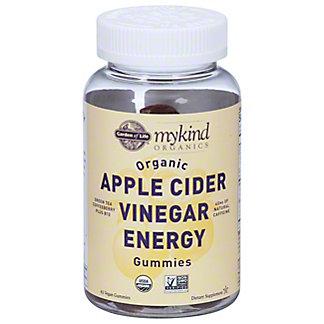 Garden of Life My Kind Organics Apple Cider Vinegar Energy Gummies, 63 ct