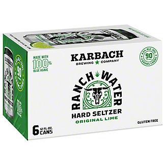 Karbach Ranch Water Hard Seltzer 12 oz Cans, 6 pk