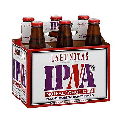 Lagunitas IPNA Non-alcoholic IPA, 6 pk Glass Bottles, 12 fl oz ea