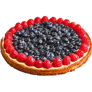 Central Market Lemon Blueberry Sable Tart, 9 in