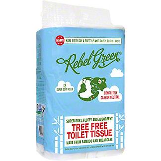 Rebel Green Bamboo Toilet Tissue, 12 pk
