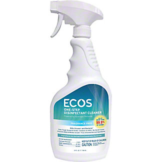 Ecos One Step Disinfectant Cleaner, 24 oz