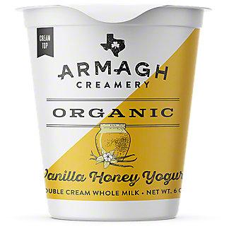 Armagh Creamery Organic Vanilla Honey Yogurt, 6 oz