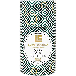 Love Cocoa Dark Gin Truffle Tube, 5.29 oz