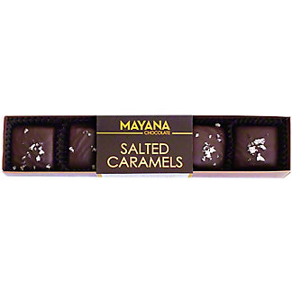Mayana 5 Piece Chocolate Salted Caramels, 1.6 oz