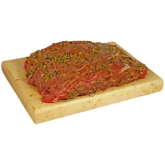 Central Market Serrano Citrus Marinated Angus Beef Sirloin Flap