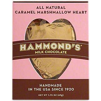 Hammond's Milk Chocolate Marshmallow Caramel Heart, 1.75 oz