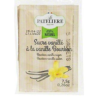 La Pateliere Vanilla Bourbon Sugar, 10 ct