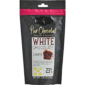 La Pateliere White Chocolate Chips, 7.05 oz