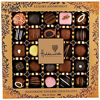 Holdsworth The Luxury Assortment Handmade English Chocolates, 10.5 oz