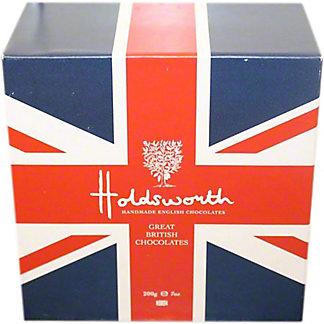 Holdsworth Union Jack Gift Box British Chocolates, 7 oz