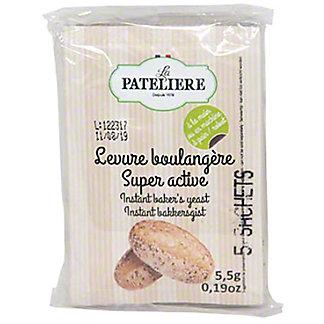 La Pateliere Extra Active Dry Yeast, 5 ct