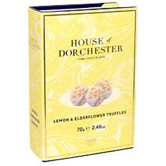 House Of Dorchester Lemon & Elderflower Truffles, 2.46 oz