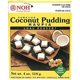 NOH Pudding Mix Coconut Haupia, 4 oz