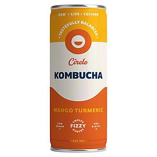 Circle Kombucha Mango Turmeric, 355 mL