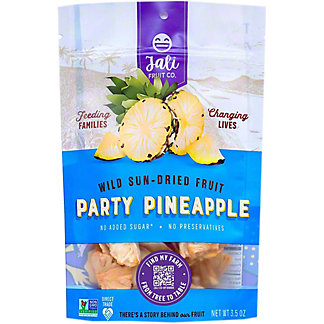 Jali Fruit Co. Dried Party Pineapple, 3.5 oz
