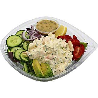 Central Market Shrimp Crab Salad With Avocado And Greens Petite Salad, ea